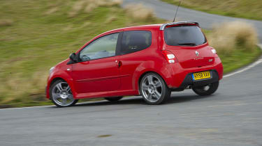 Renaultsport Twingo 133 cornering