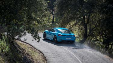 Porsche 718 Cayman T review - rear