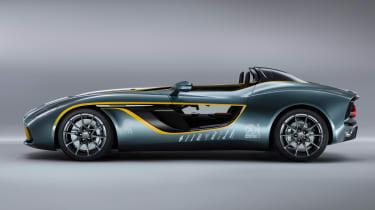Aston Martin CC100 speedster concept side profile