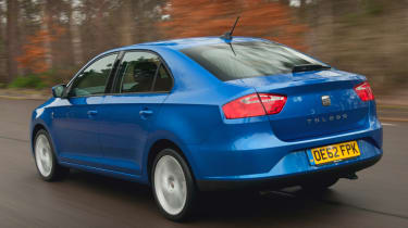 2013 Seat Toledo 1.6 TDI rear tracking