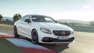Mercedes-AMG C 63 S Coupe - white front