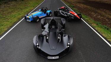 BAC Mono, Aeriel Atom and Caterham 620R TCOTY