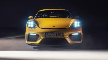 Porsche 718 Cayman GT4 front