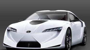 Toyota Supra hybrid concept