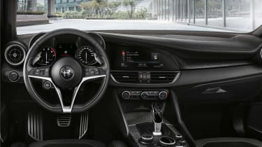 Alfa Giulia MY19 updates - Ti interior