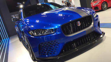 Goodwood Festival of Speed - Jaguar XE SV Project 8