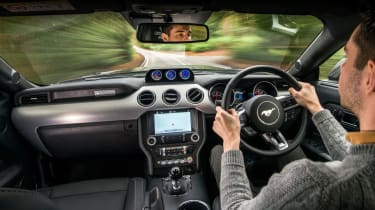 Shelby Mustang Super Snake – Interior