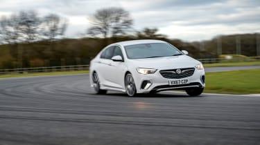Vauxhall Insignia Grand Sport GSi BiTurbo – front cornering
