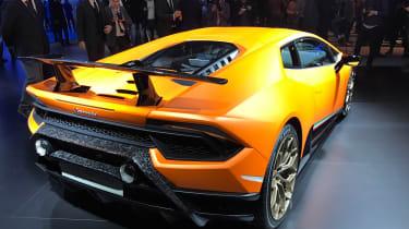 Lamborghini Huracan Performante Geneva 2017 rear