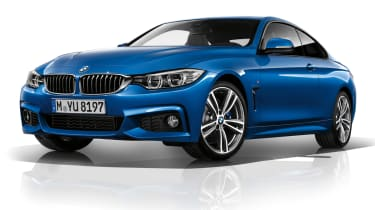 New BMW 4-series coupe M Sport front