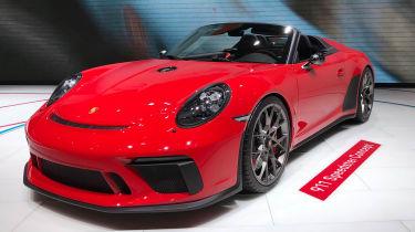 Porsche 911 Speedster - front quarter