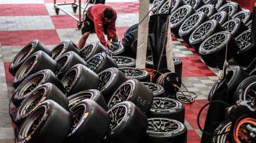 Le Mans 2017 Michelin tyres