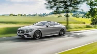 Mercedes S 560 coupe - side