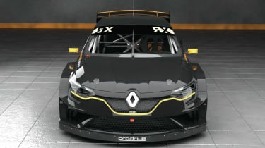 Prodrive Megane Supercar WRX - front