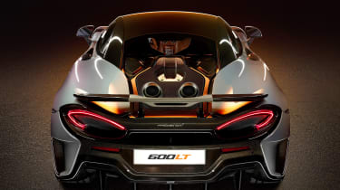 McLaren 600LT revealed - back