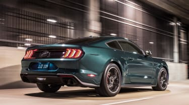 Ford Mustang Bullitt – rear quarter