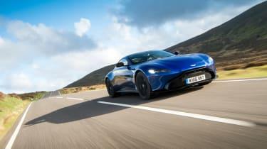 Aston Martin Vantage UK - front