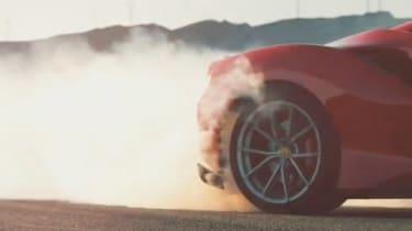 Ferrari 488 'Sport Special Series' teaser - rear