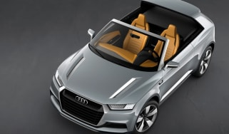 Audi Crossline Coupe concept at the Paris motor show