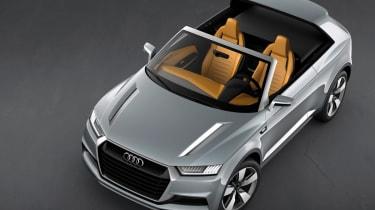 Audi Crossline Coupe concept at the Paris motor show