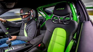 Porsche 911 GTs - GT3 RS cabin