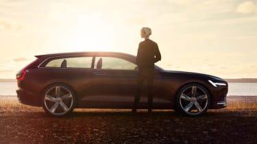 Volvo Concept Estate side profile