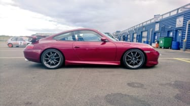 Rockingham track day 2 - Porsche 911