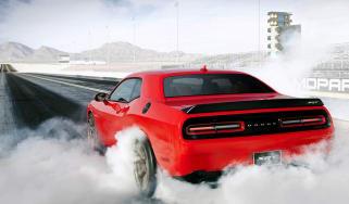 Dodge Challenger SRT Hellcat burnout