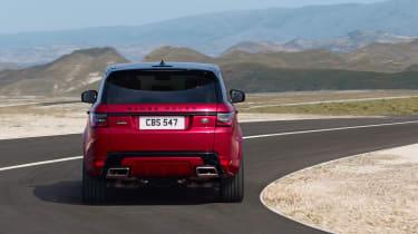 Range Rover Sport - on road rear