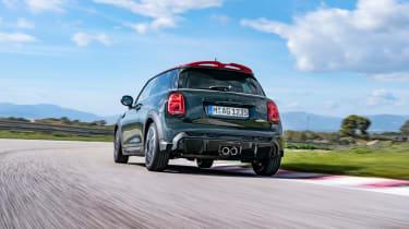 2021 Mini JCW revealed - rear tracking