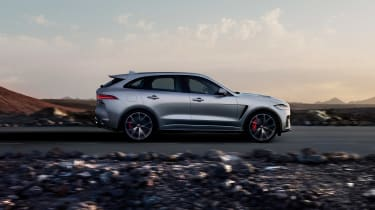 Jaguar F-Pace SVR - side