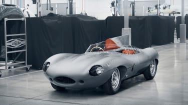 Jaguar D-Type – front quarter