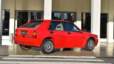 Lancia Heritage Parts – Delta rear quarter