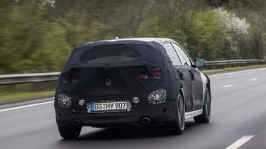 Hyundai i30 N prototype - rear three quarter