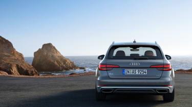 Audi A4 refresh 2018 - rear