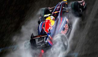 Red Bull RB5 F1 car