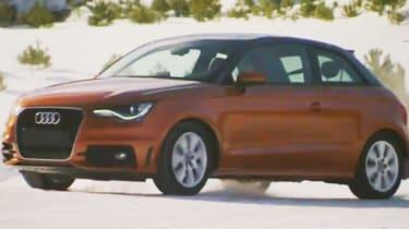 Audi A1 quattro drifting
