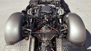 5.9 Chevy V8 powering Triumph GT6
