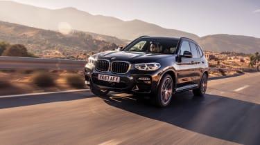 BMW X3 30d M Sport - front quarter
