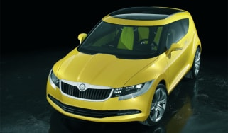 Skoda Joyster concept coupe front exterior