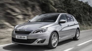 New Peugeot 308 front