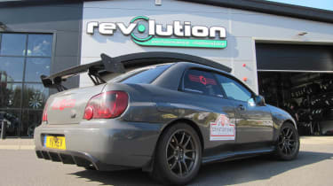 Revolution Subaru Impreza Project STI Nurburgring