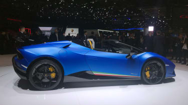 Lamborghini Huracan Performante Spyder - side