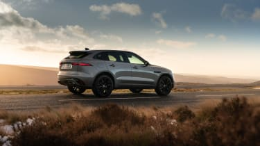 Jaguar F Pace 2021 review - P400 rear