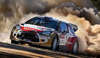 Chris Meeke gets Citroen WRC drive