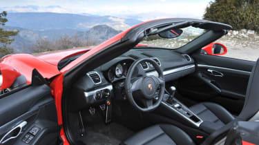 2012 Porsche Boxster S interior