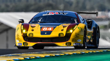 Le Mans 2017 - Ferrari yellow