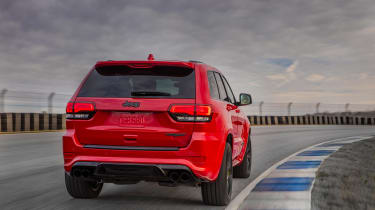 Jeep Grand Cherokee Trackhawk - rear