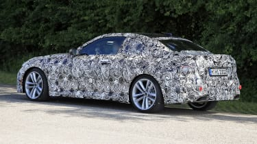 2021 BMW 2-series spy – rear quarter side