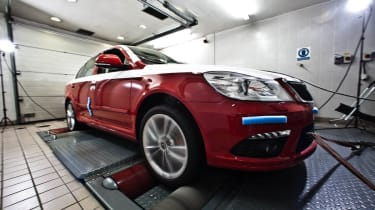 Skoda Octavia Bonneville car takes shape